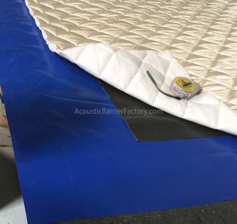 Mass Loaded Vinyl Barrier MLV Acoustic Barrier Vinyl Acoustical Barriers