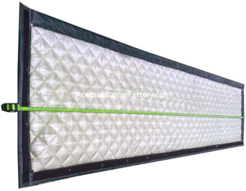 Outdoor Sound Absorbing Panels